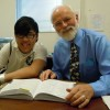 Ron Nelson with Student