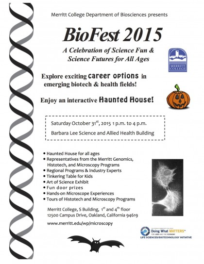 Biofest Oct. 31
