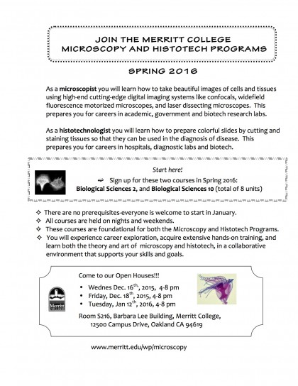 Flyer Micro and Histo 2016 Screen shot