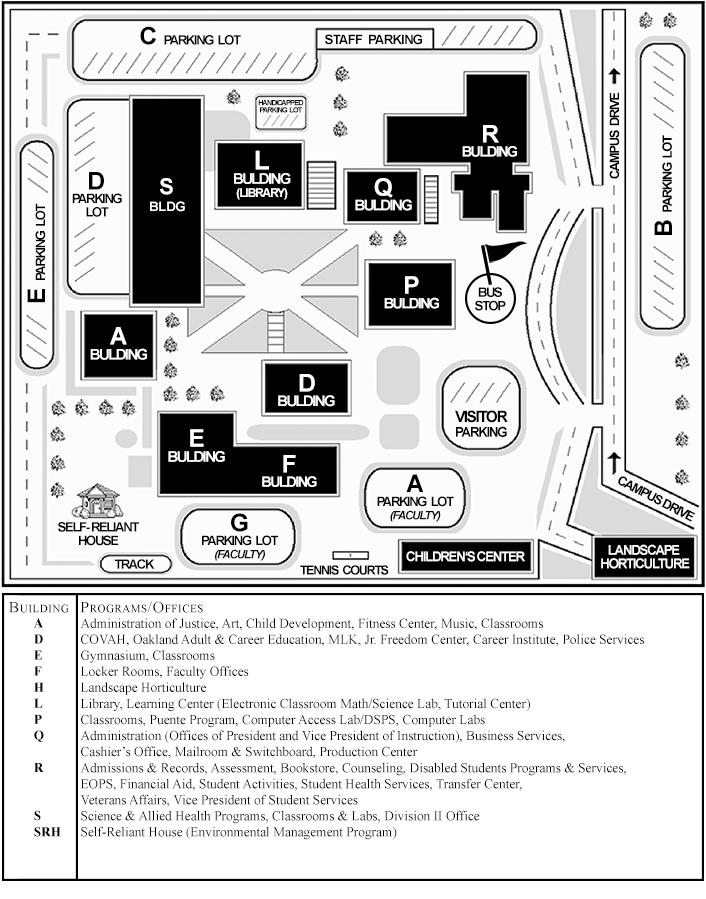 Campus Map And Directions