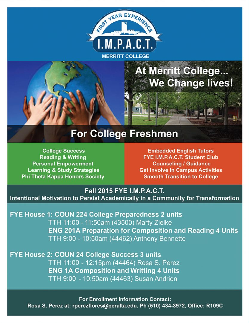 first year experience fye will help students ease into community first year experience fye will help students ease into community college life merritt college merritt college