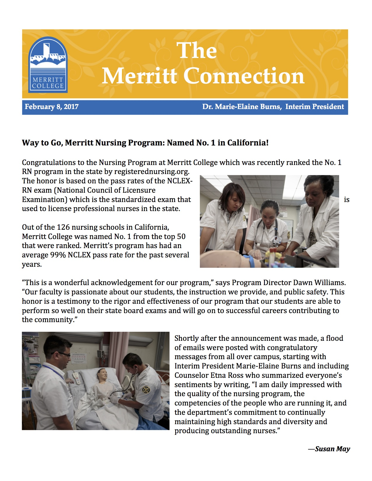 Merritt College Nursing