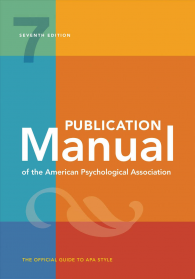 APA Publication Manual 7th Edition