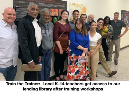 Teachers get training in microscopes